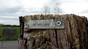 Geocaching hexadecimaal puzzel