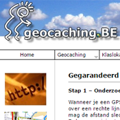 Geocaching.be