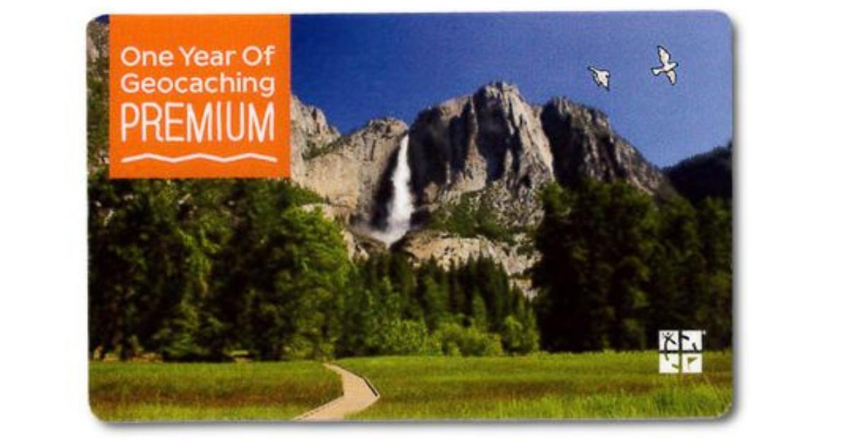 Premium Membership Geocaching