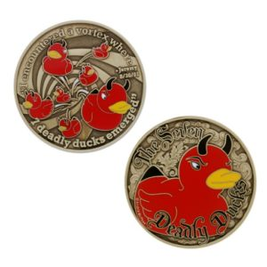 geocoin 7 ducks