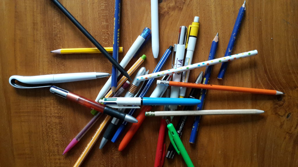 Pennen en potloen