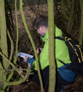 Team Beir winterevent 2016 geocaches