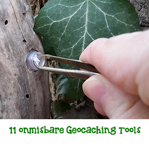 11 Onmisbare Geocaching tools