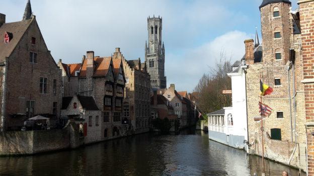 Brugge Dijver en Belfort