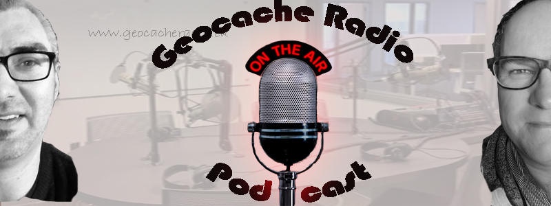 Geocache Radio Podcast banner