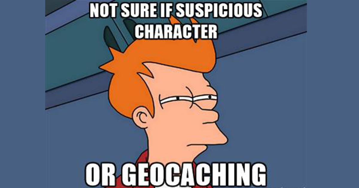 Geocaching muggles