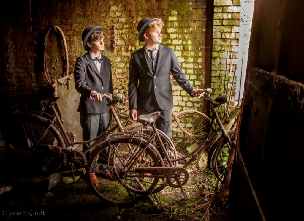 Jo en Stijn - fietsen