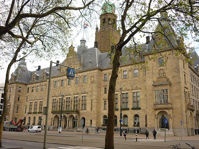 Geocaching Rotterdam - Stadhuis