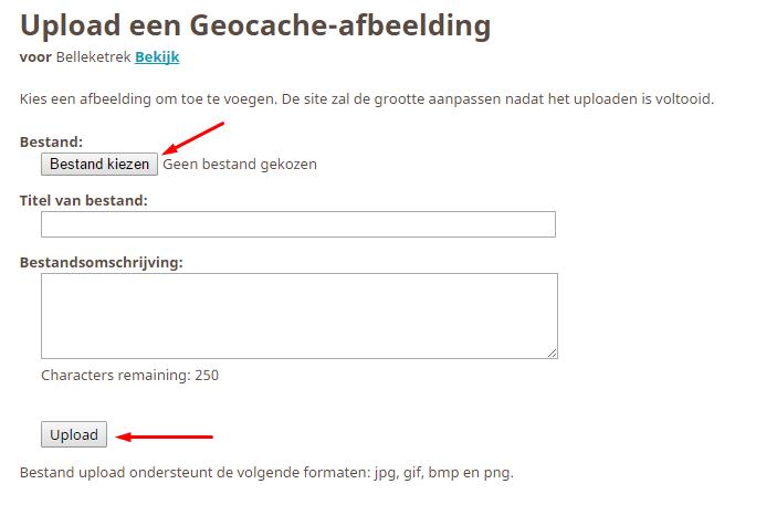 Kies een bestand om te uploaden