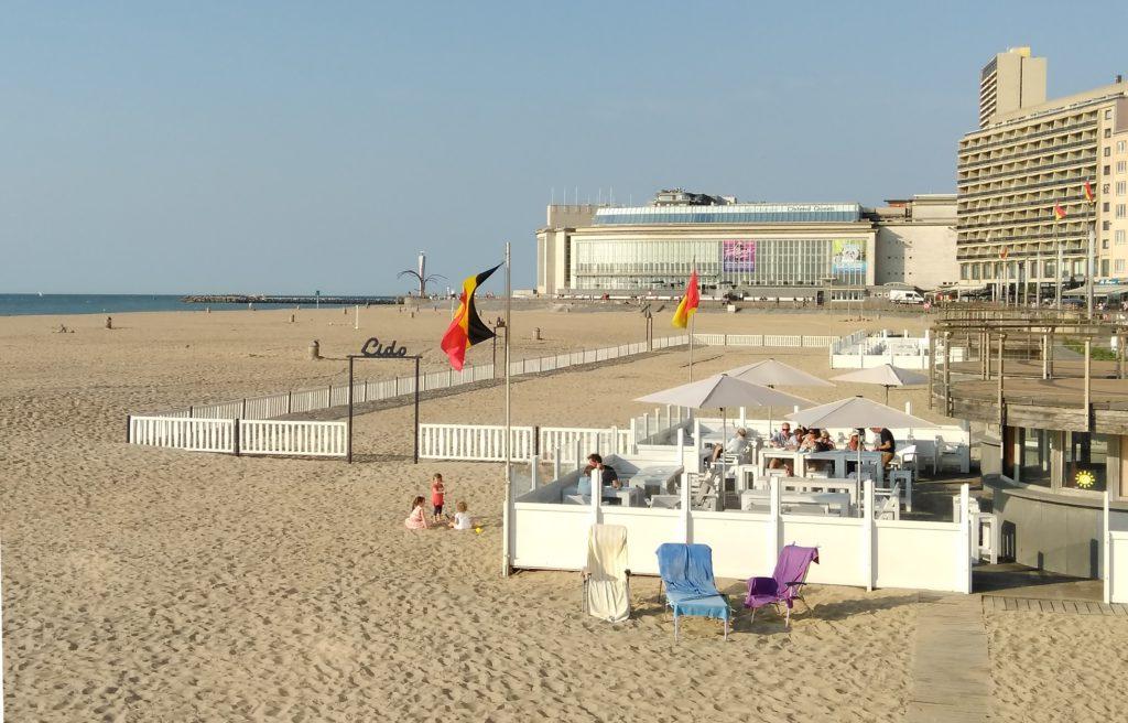 Casino en strand Oostende