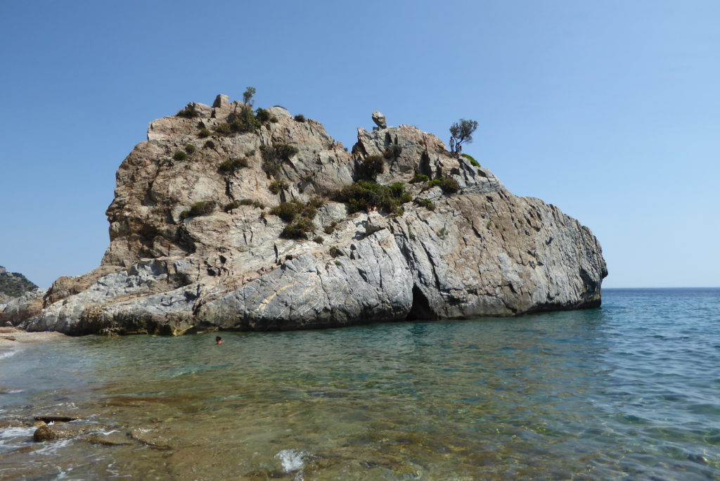 Geocaching Griekenland - Melinta Rock