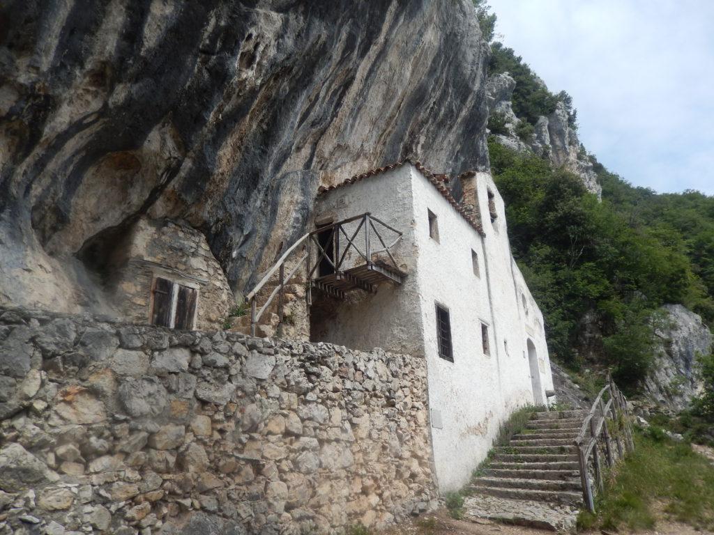 Geocaching Italië - Eremo di San Valentino