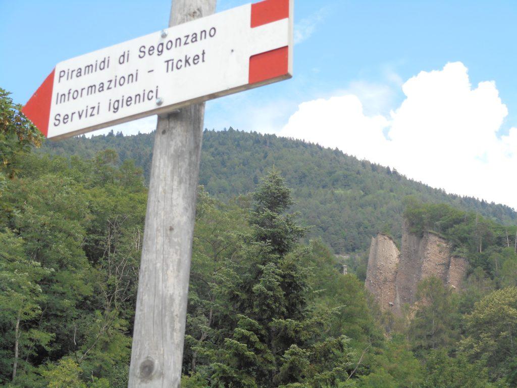 Geocaching Italië - Piramidi di Terra di Segonzano