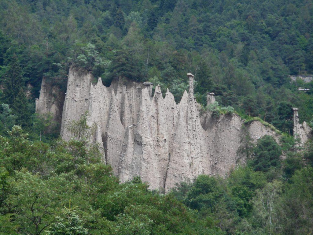 Geocaching Italië - Piramidi di Terra di Segonzano (2)