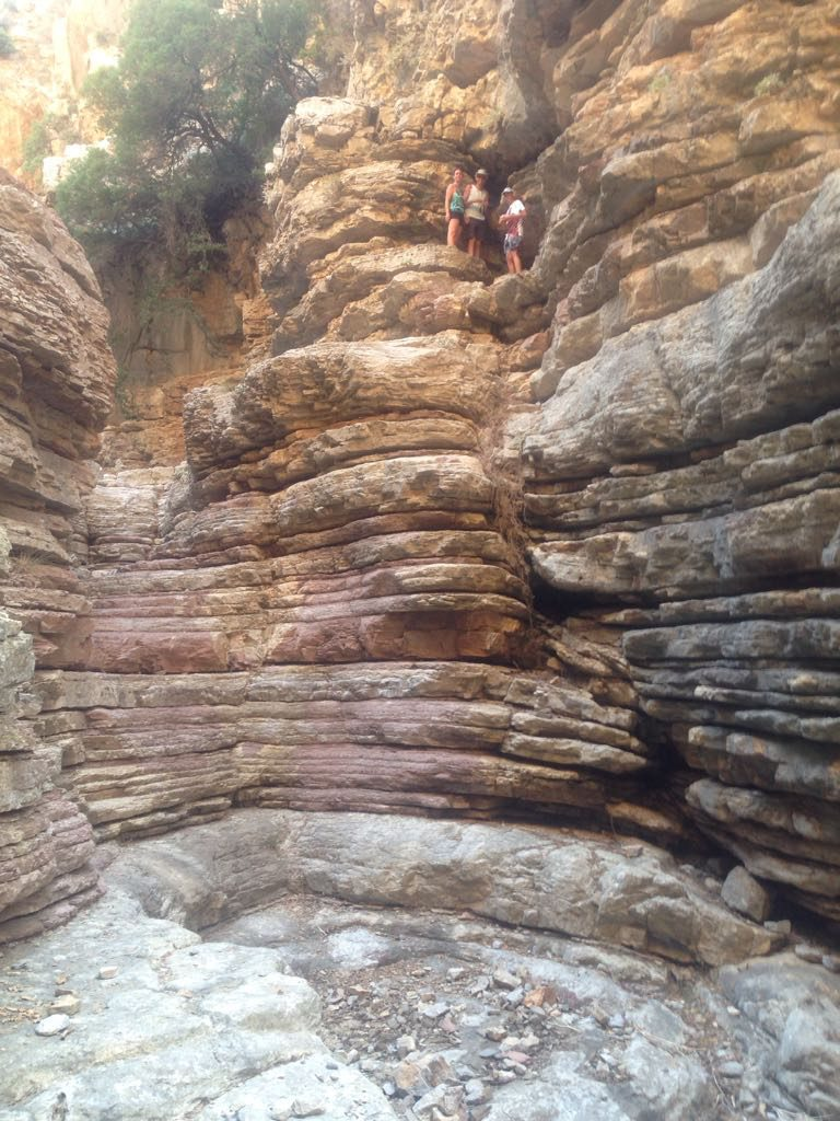 Geocaching Rhodos - Gran Canyon of Siana