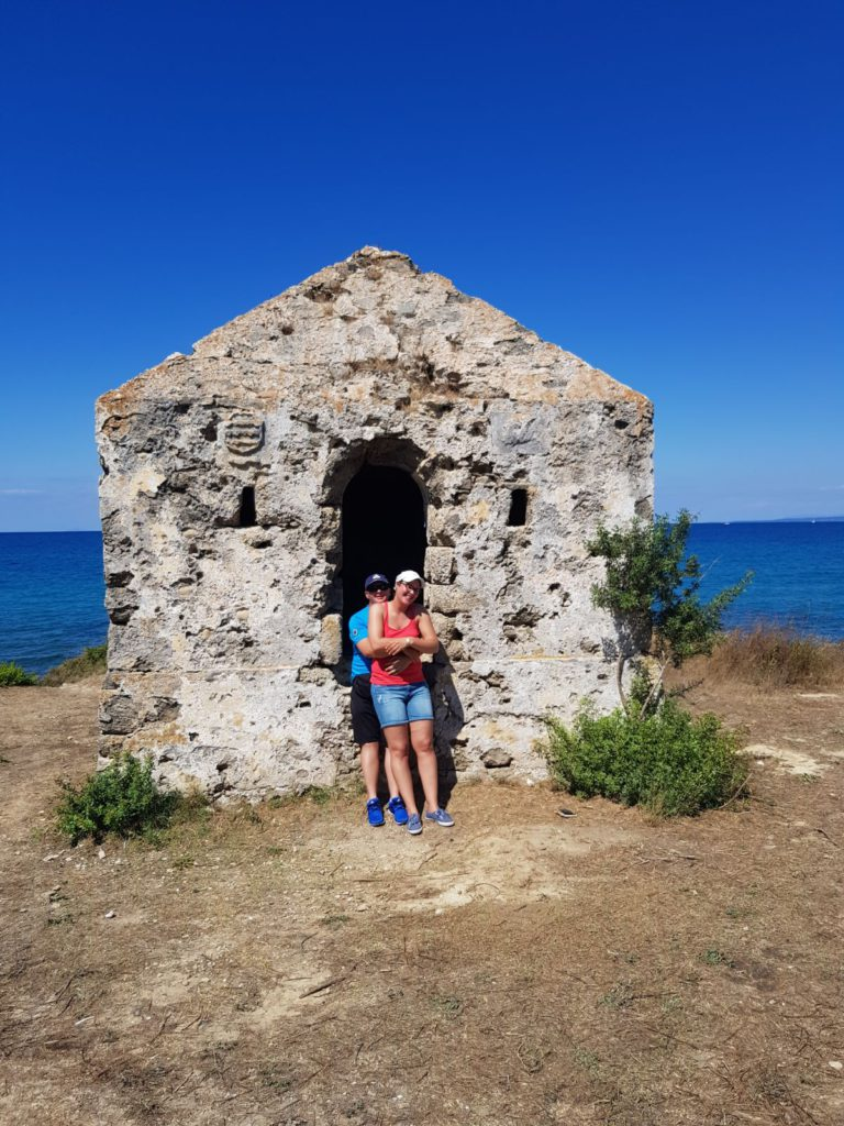 Geocaching Zakynthos - Mr and Mrs Mason