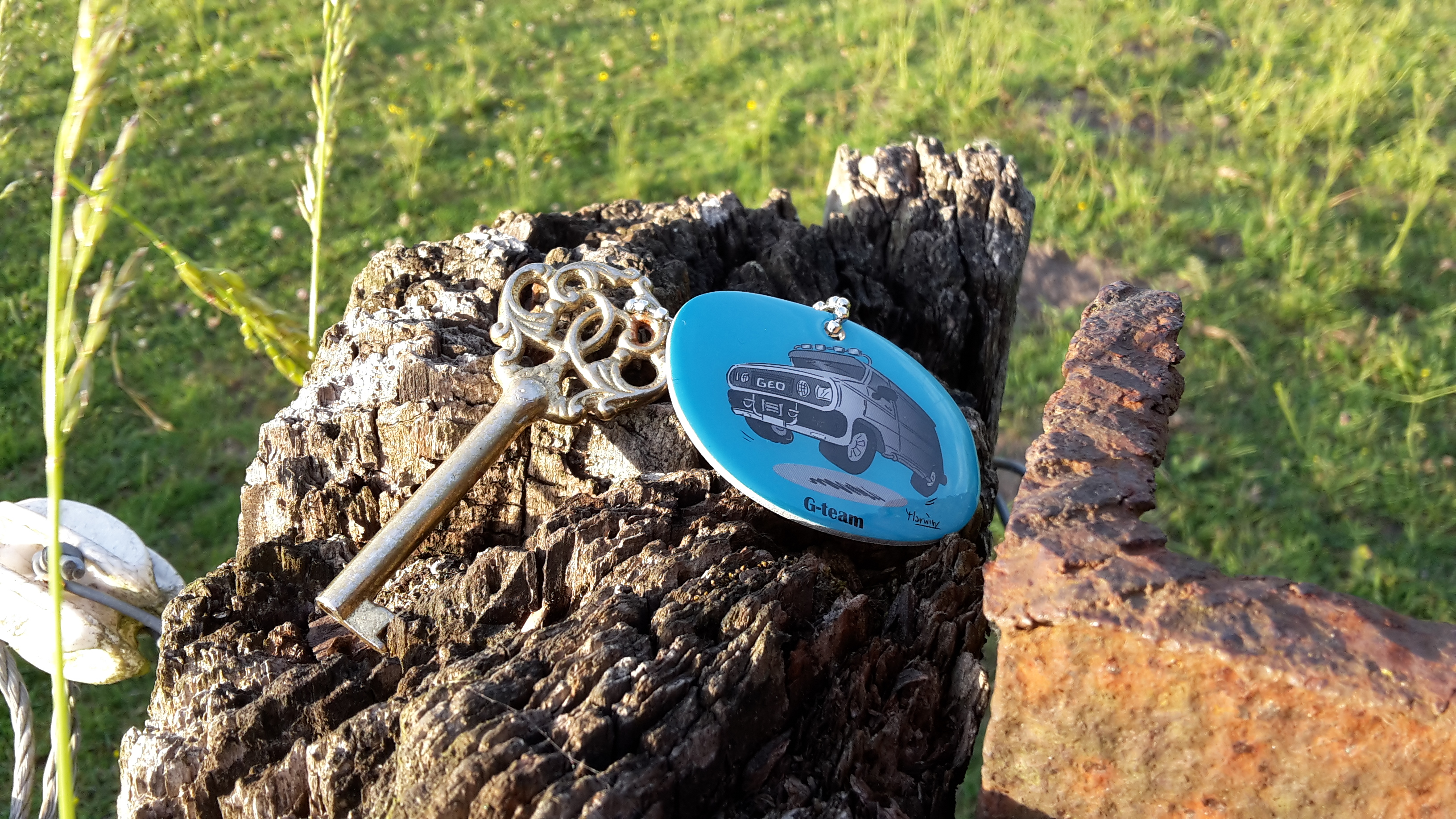 Trackable Geocaching
