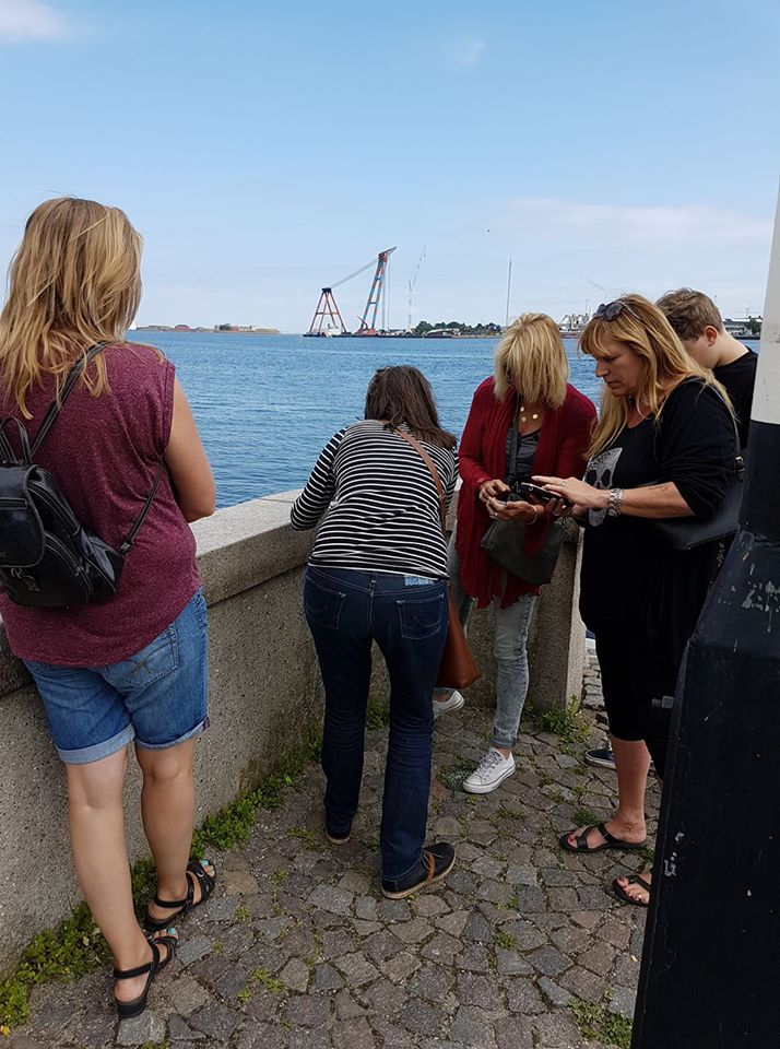 Geocaching Denemarken - The little Mermaid
