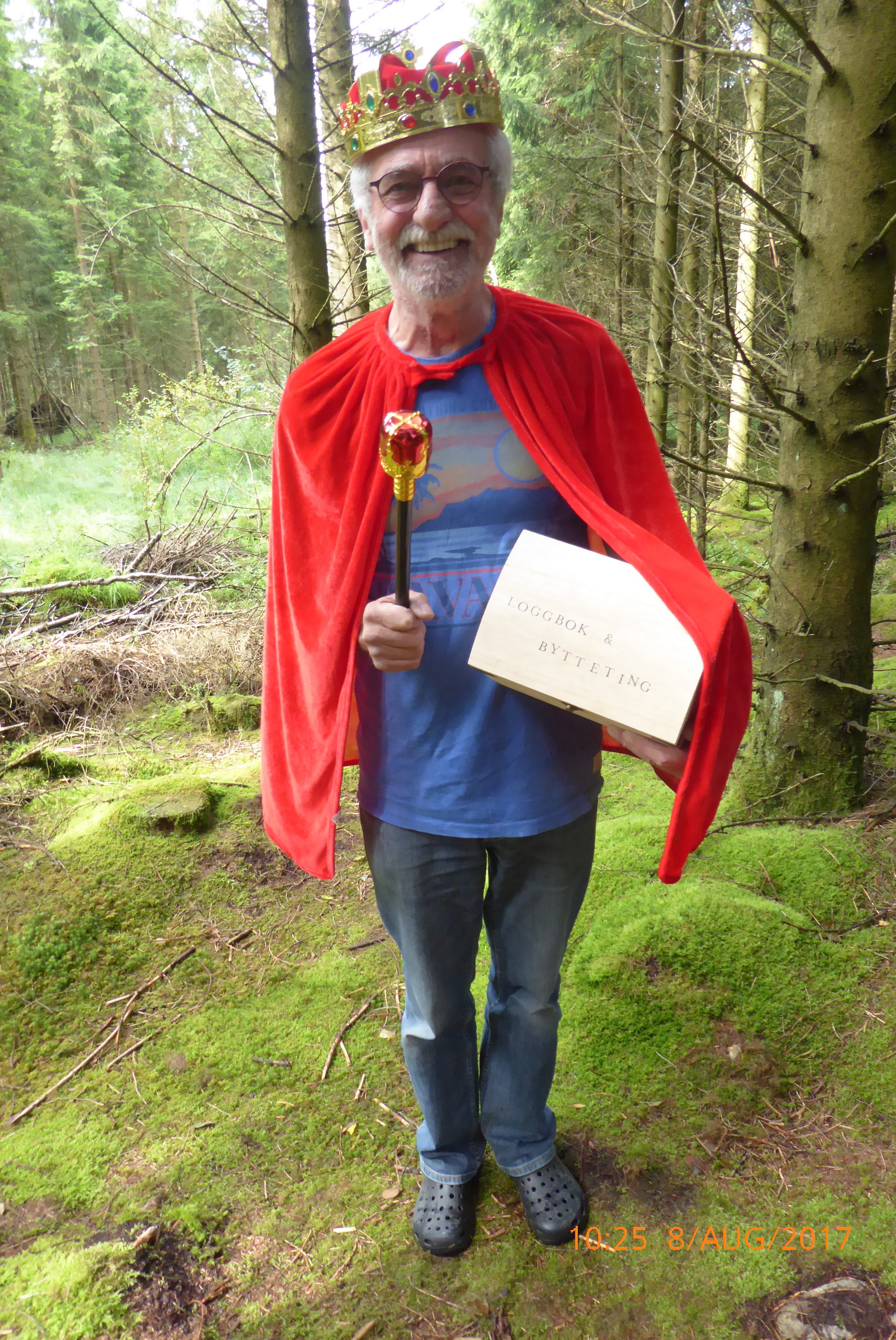 Geocaching Noorwegen - Keiserens nye klær