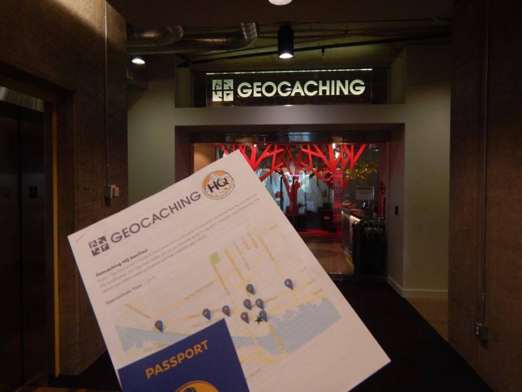 Geocaching HQ geotour passport
