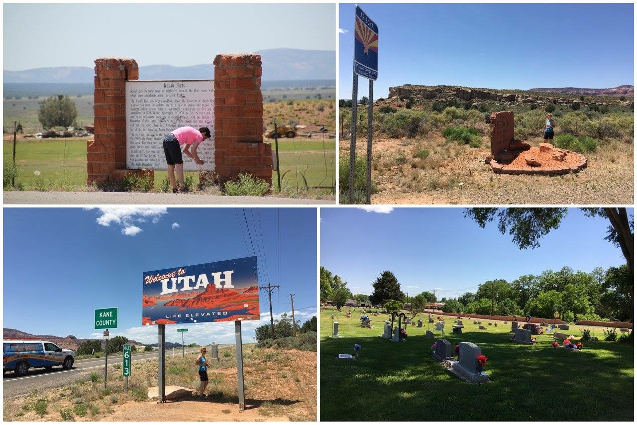 Geocaching USA - Welcome to Utah - Kanab Forts