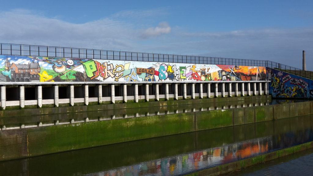 Graffiti - Kruibeekse Polders