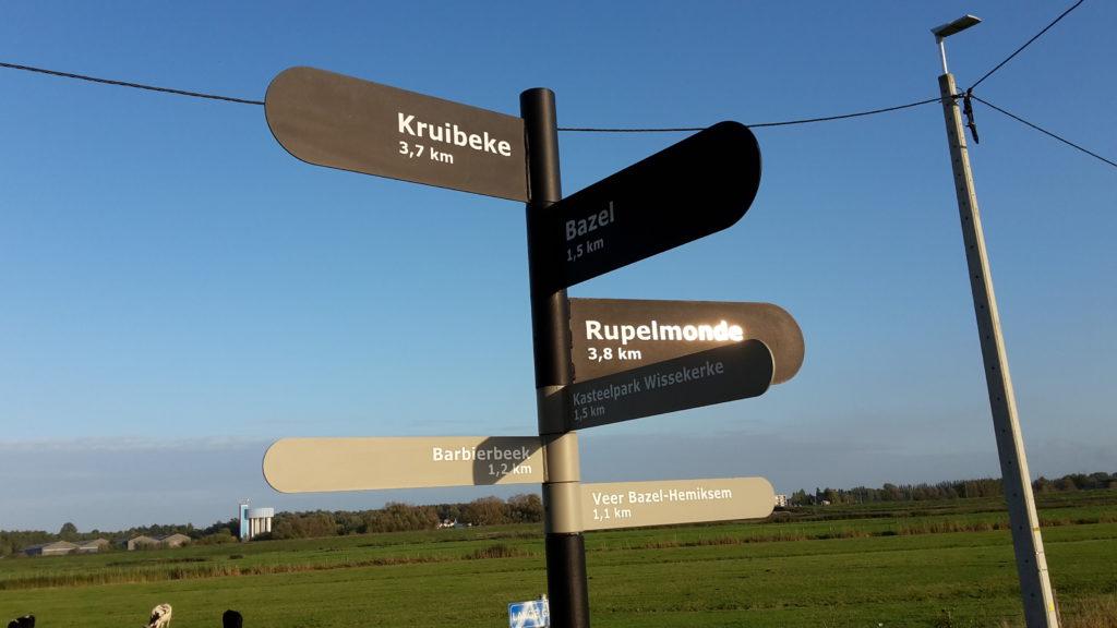 Kruibeekse polders - wegwijzers