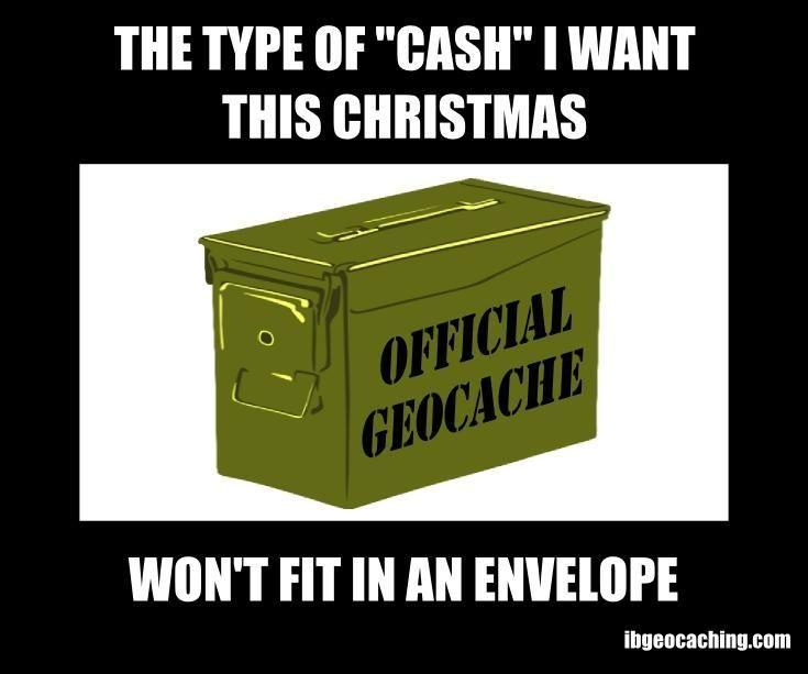 Geocaching Memes - Geocaching cadeau