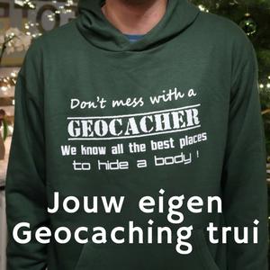Win je eigen Geocaching trui