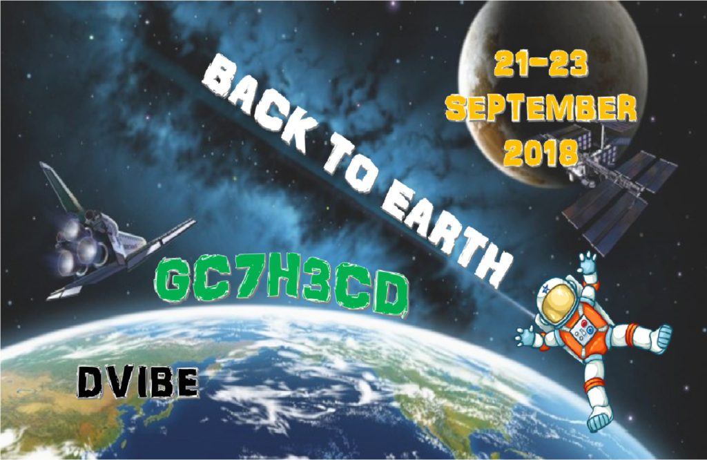 Geocaching Event - Back to earth