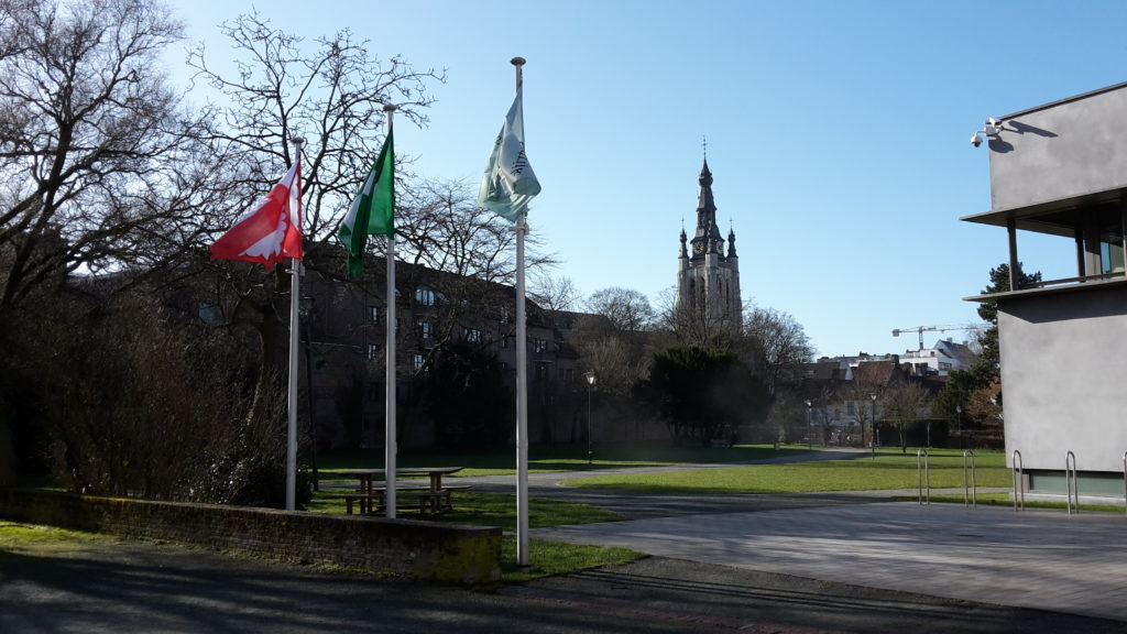 Geocaching Kortrijk - Begijnhofpark