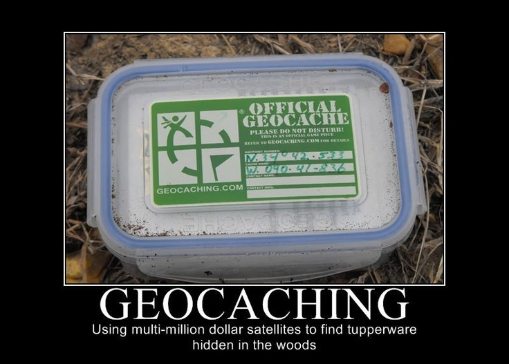 Geocaching Tupperware