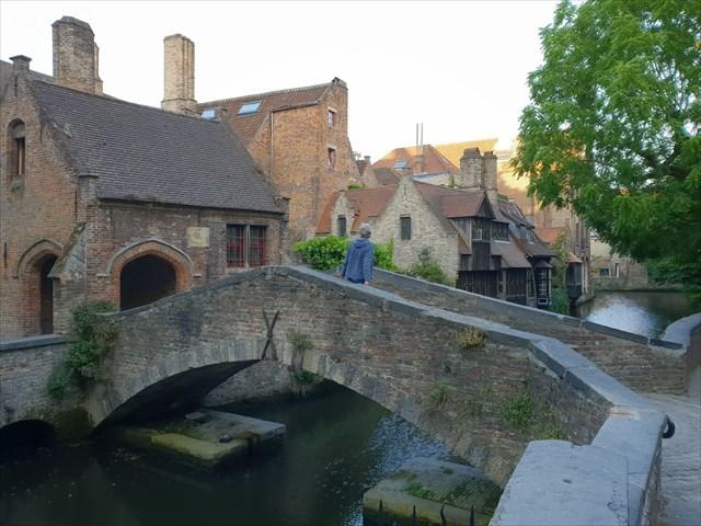 Pont d'amour Brugge - Virtuele cache
