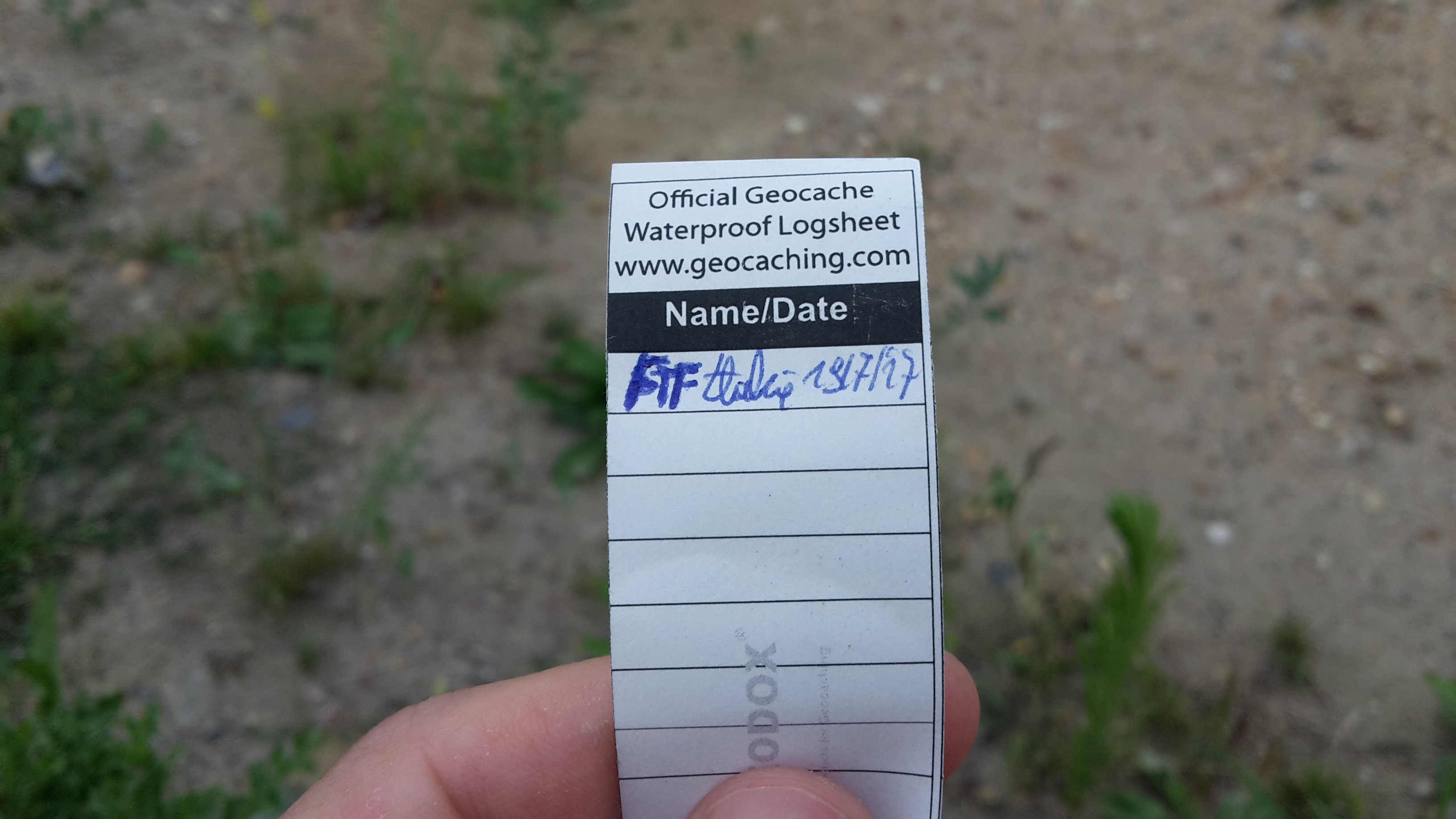 First to Find Geocaching - FTF