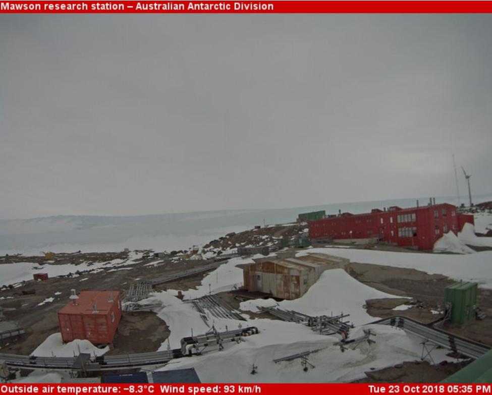 Mawson Antartica