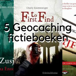 Geocaching fictieboeken