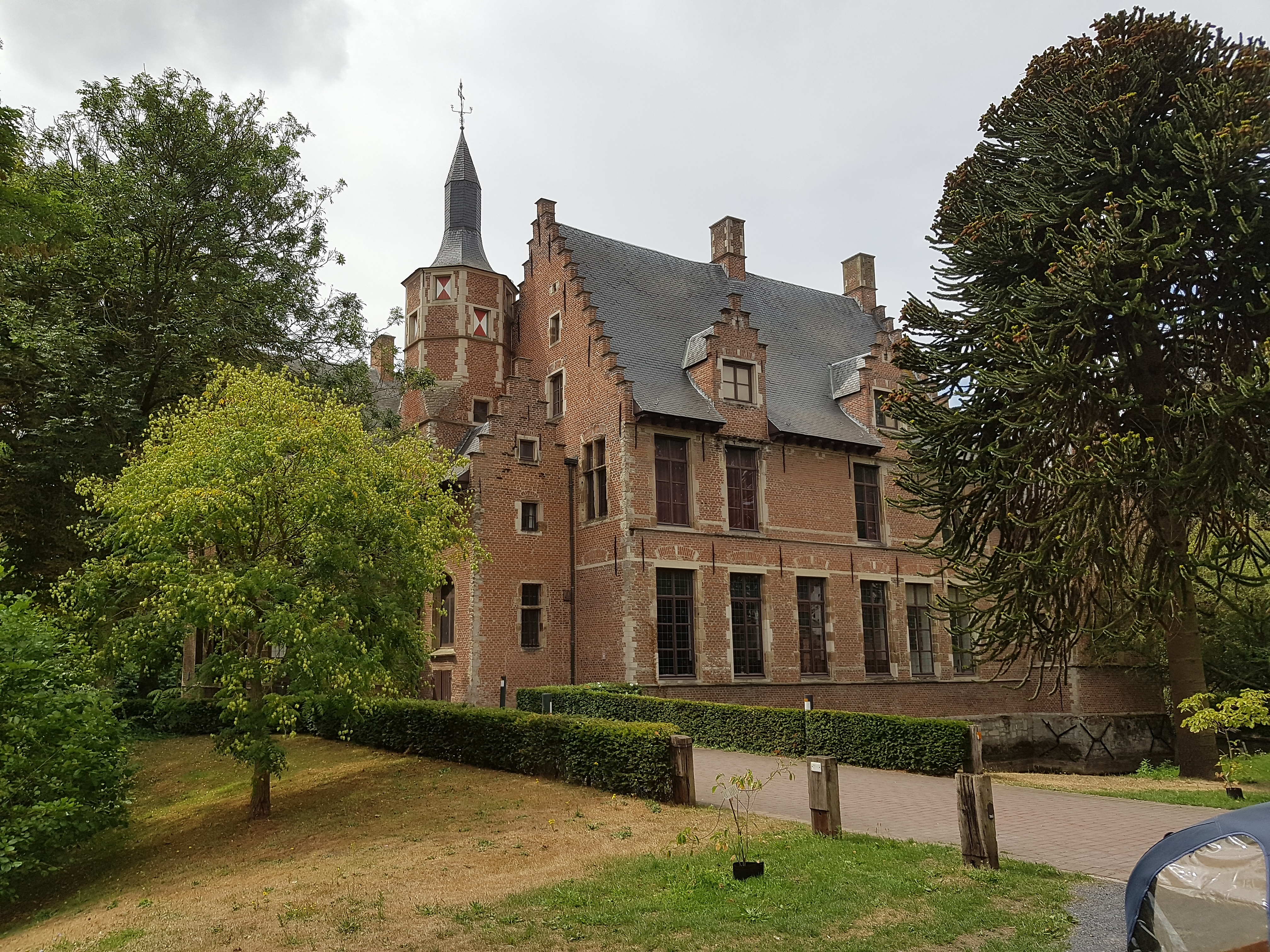 Romain de Vidtspark - Kasteel Walburg