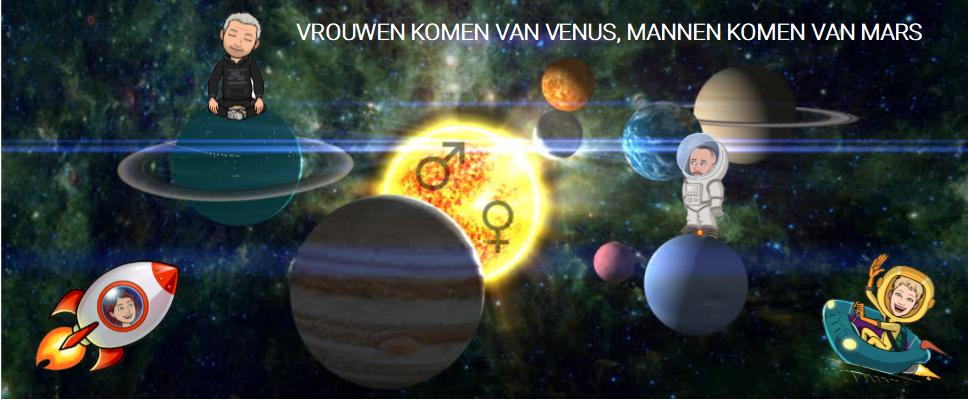 Vrouwen komen van Venus - Mannen komen van Mars