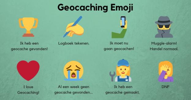 Geocaching Emojis