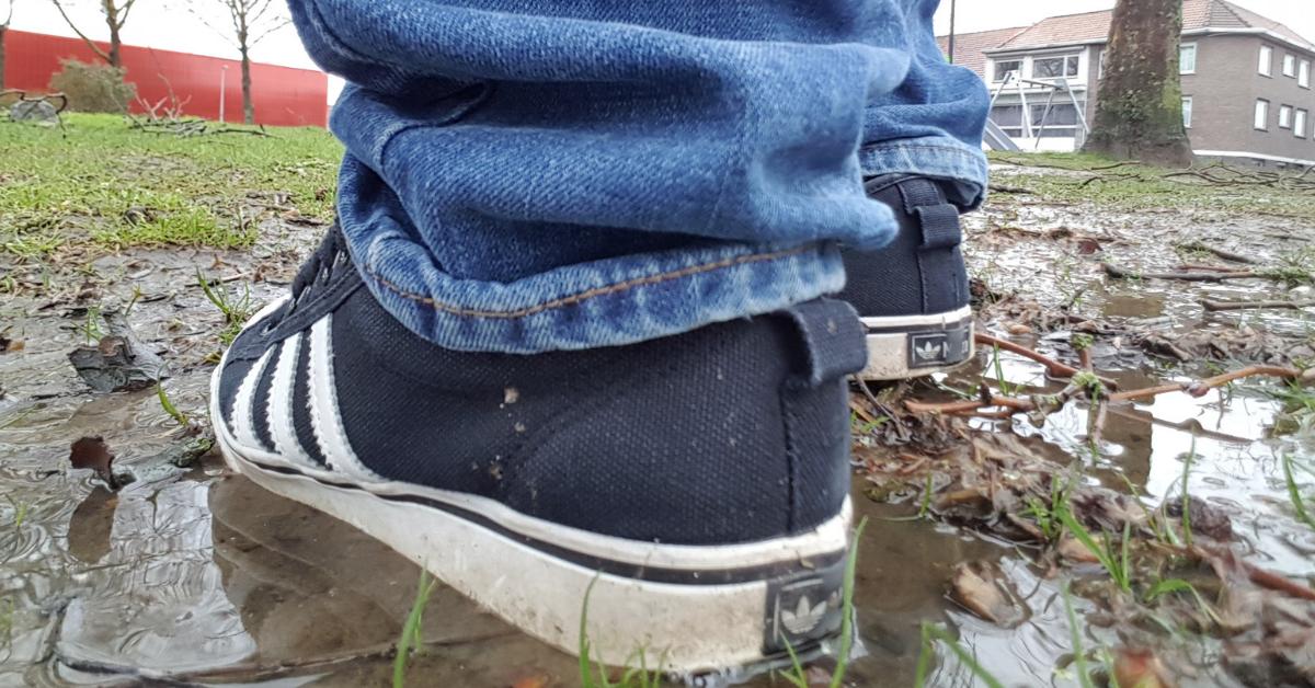 Vuile schoenen - Geocaching