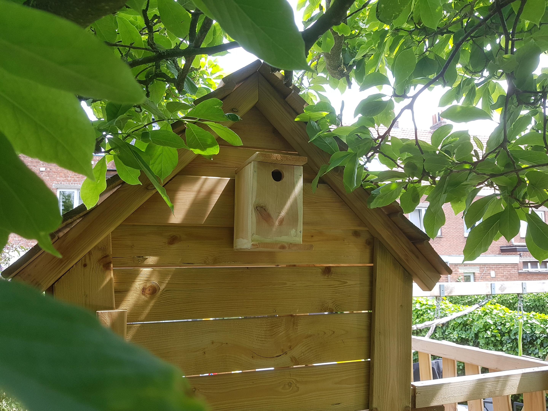 Vogelhuisje maken