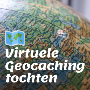 Virtuele Geocaching tochten