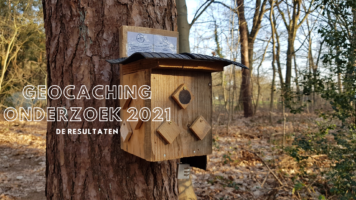 Geocaching onderzoek 2021 – deel 1