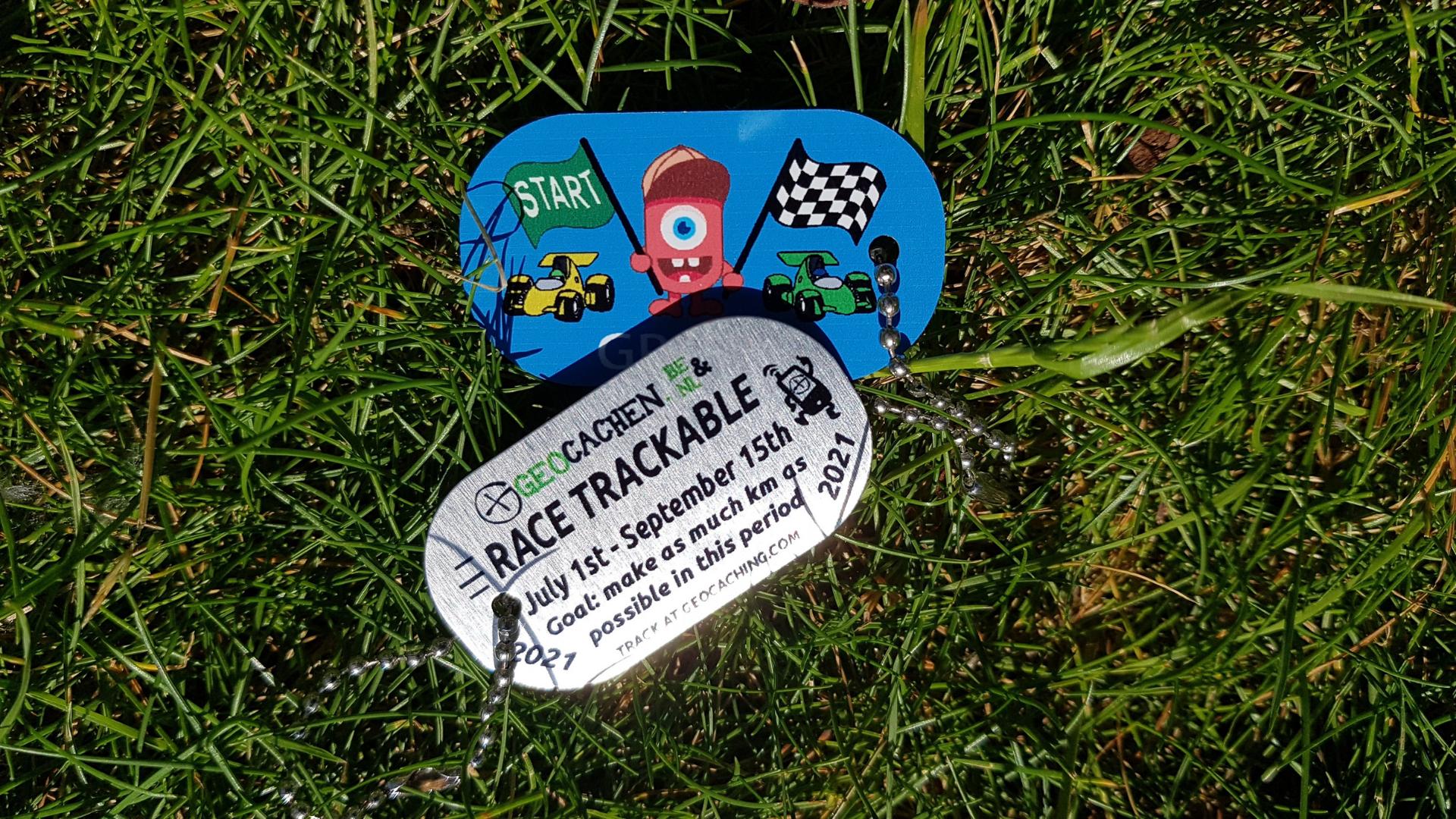 TBrace Geocachen trackables